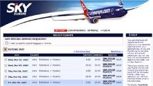 Sky Europe's Mystery Destinations