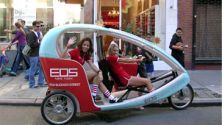 Dublin: EcoCabs Let You Go Green (and Blue and Red…)