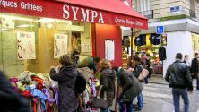 "Paris Shopping Tip: Designer clothing for less at ""Sympa"""