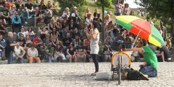 Berlin: Bearpit Karaoke at the Mauerpark Flea Market