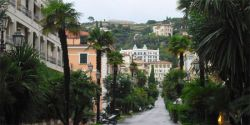 Wandering Cheapo: Postcard from Bordighera