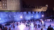 London: Ice skating rinks with central locations and great views