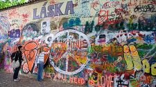 Prague: John Lennon's Wall celebrates an era of resistance