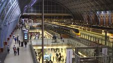 St Pancras Station, London: A place to linger