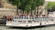 Paris' Bateaux-Mouches are the perfect tour for a tired traveler