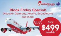 Airfare Alert: US to Europe from $499 on airberlin