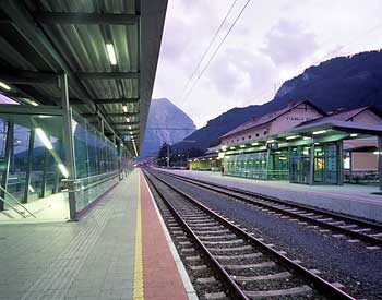 Stainach-Irdning train station track / Photograph: CI & M / Robert Deopito