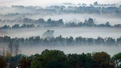 Foggy Liechtenstein