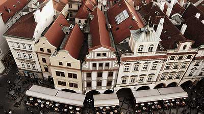 Rooftops, Prague, what's the problem?