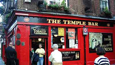 Temple Bar epicenter