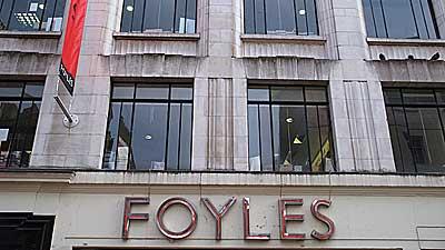 Foyles, Foo'