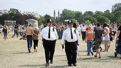 Fruitstock cops