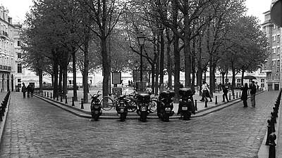 Motorcyles in Paris