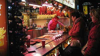 Sausage heaven