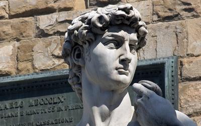 Florence David statue