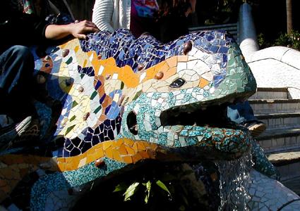 Parc Guell, Gaudi