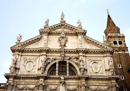 Chiesa de San Moise, Venice