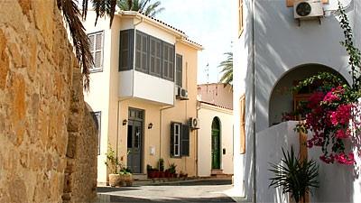Street scene in Nicosia, Cyprus