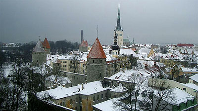 Does Tallinn, Estonia hold the key? Photo by Elmada.