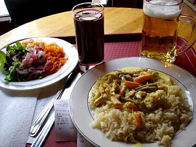 Lunch in Riga