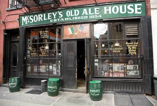 McSorleys on 15 E. 7th St.