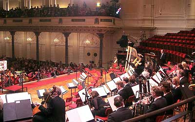 A concert at Amsterdam's Concertgebouw. Photo by ioniriq