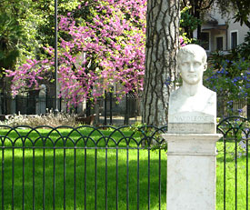 Napoleon's bust in the Villa Borghese.