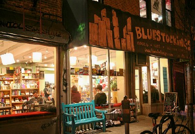 Bluestockings bookshop in NYC