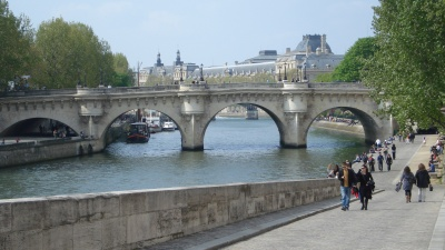 Pont Neuf, Paris's oldest bridge. Photos by Liz Webber.