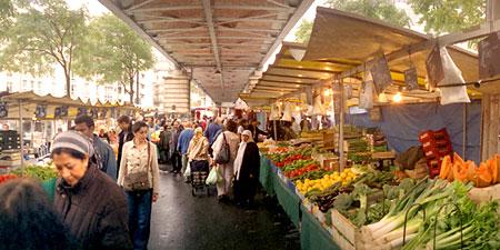 Paris Shopping Success At Outdoor Food Markets Eurocheapo