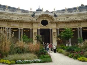 The Petit Palais garden