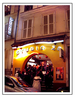 Studio 28 in Paris. Photo by Theadora Brack.
