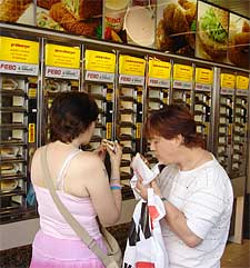 Eat on the spot at Febo.