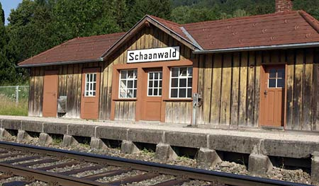 The perfect station at Schaanwald in