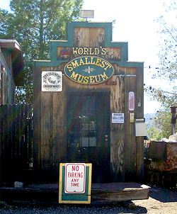 "The ""World's Smallest Museum"" in Superior, AZ. Really? Photo by Danny McL."