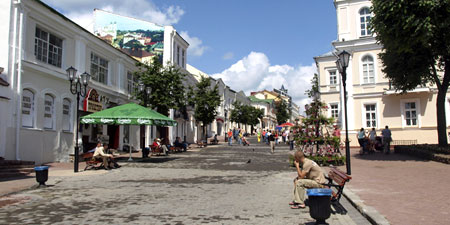 The Old Town of Vitebsk, Belarus. Photos ©hidden europe.