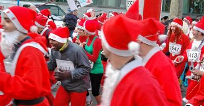 La Corrida racers, aka Santas