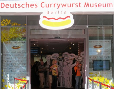 The new Currywurst Museum opens its doors in Berlin.
