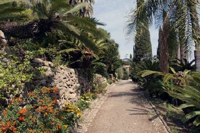 Hanbury Gardens at La Mortola, photo by hiddeneurope