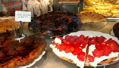 Ooh la la; More tartes at Le Petits Mitrons
