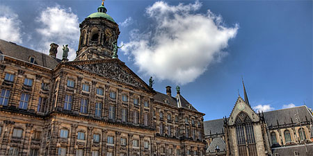 Amsterdam's Royal Palace will be open for free. Photo by vgm8383.