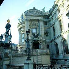The Palais Garnier.