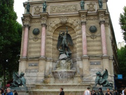 The St. Michel fountain