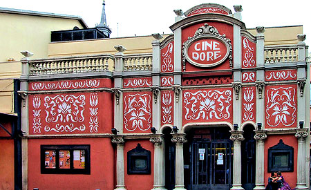 Madrid's Cine Doré offers films for €2.50! Photo by SantiMD.