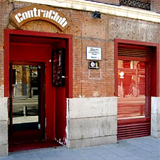 Live music nightly at the Contra Club.