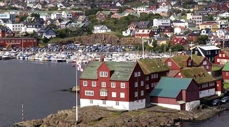 Tórshavn, capital of the Faroe Islands - not part of the EU! Photos ©hidden europe.