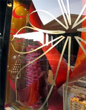 The decadent displays at l'épiceries Fauchon