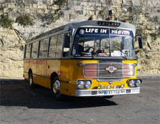 Malta is noted for its fabulous old-fashioned buses.