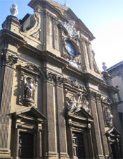 The Chiesa dei Santi Michele e Gaetano.