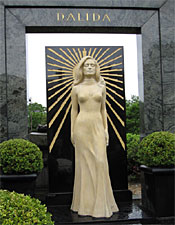 A shrine to popstar Dalida